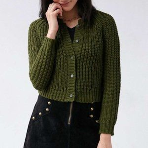 Urban Outfitters Unif Chloe Chunky Knit Cardigan